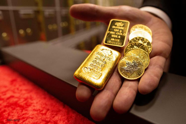 ลงทุนขายทอง